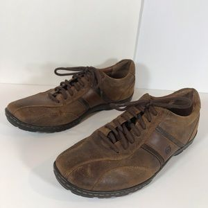 Born brown leather oxfords